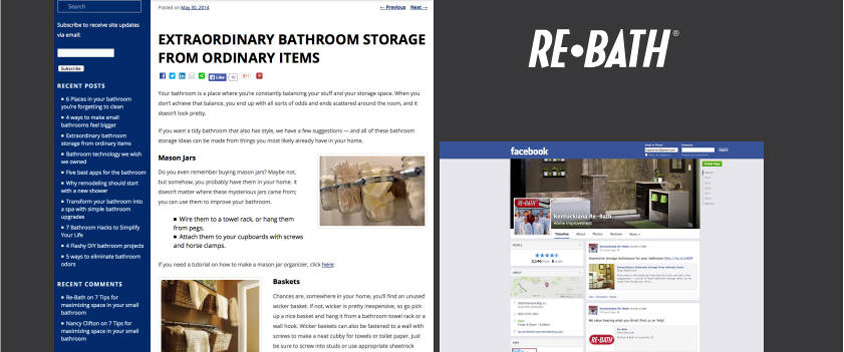 Re Bath: Online Marketing For The Worlds Largest Bathroom Remodeling Company