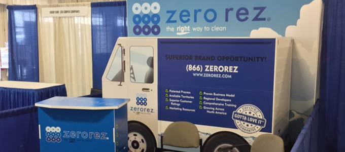 zerorez custom convention booth