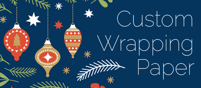 Custom Wrapping Paper for Your Business