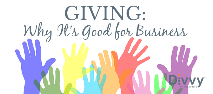 Giving: Why It's Good for Business