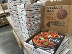 Divvy Pizza Box Marketing Campaign: Wave 1